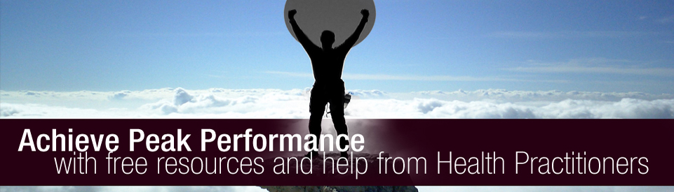 Chiropractors help you achieve peak performance